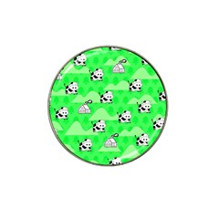 Animals Cow Home Sweet Tree Green Hat Clip Ball Marker (4 Pack)