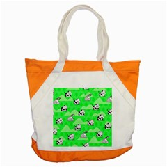 Animals Cow Home Sweet Tree Green Accent Tote Bag by Alisyart