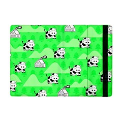 Animals Cow Home Sweet Tree Green Apple Ipad Mini Flip Case by Alisyart