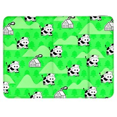 Animals Cow Home Sweet Tree Green Samsung Galaxy Tab 7  P1000 Flip Case