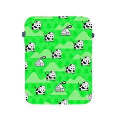 Animals Cow Home Sweet Tree Green Apple Ipad 2/3/4 Protective Soft Cases by Alisyart