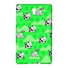 Animals Cow Home Sweet Tree Green Samsung Galaxy Tab S (8 4 ) Hardshell Case  by Alisyart