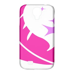 Bird Feathers Star Pink Samsung Galaxy S4 Classic Hardshell Case (pc+silicone) by Alisyart