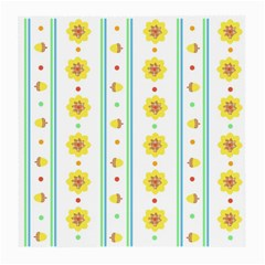Beans Flower Floral Yellow Medium Glasses Cloth by Alisyart