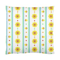 Beans Flower Floral Yellow Standard Cushion Case (one Side) by Alisyart