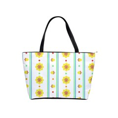 Beans Flower Floral Yellow Shoulder Handbags by Alisyart