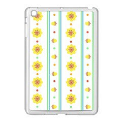 Beans Flower Floral Yellow Apple Ipad Mini Case (white)