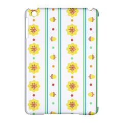 Beans Flower Floral Yellow Apple Ipad Mini Hardshell Case (compatible With Smart Cover) by Alisyart