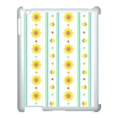 Beans Flower Floral Yellow Apple Ipad 3/4 Case (white) by Alisyart