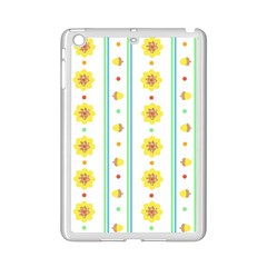 Beans Flower Floral Yellow Ipad Mini 2 Enamel Coated Cases