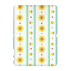 Beans Flower Floral Yellow Galaxy Note 1 by Alisyart