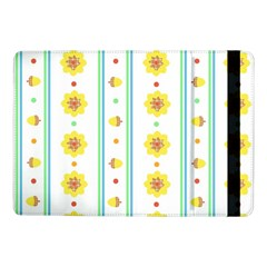 Beans Flower Floral Yellow Samsung Galaxy Tab Pro 10 1  Flip Case