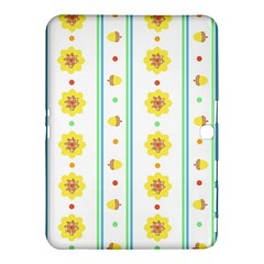 Beans Flower Floral Yellow Samsung Galaxy Tab 4 (10 1 ) Hardshell Case  by Alisyart