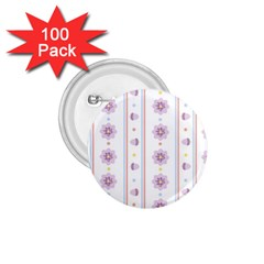 Beans Flower Floral Purple 1 75  Buttons (100 Pack)  by Alisyart
