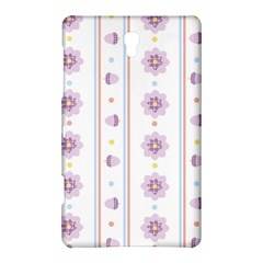 Beans Flower Floral Purple Samsung Galaxy Tab S (8 4 ) Hardshell Case  by Alisyart