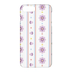 Beans Flower Floral Purple Apple Iphone 7 Plus Hardshell Case by Alisyart