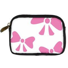 Bow Ties Pink Digital Camera Cases