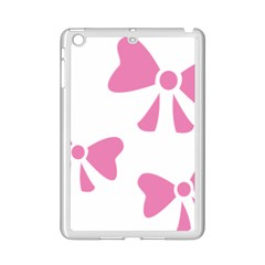Bow Ties Pink Ipad Mini 2 Enamel Coated Cases