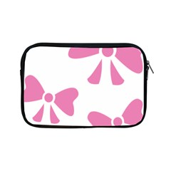 Bow Ties Pink Apple Ipad Mini Zipper Cases by Alisyart