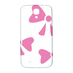 Bow Ties Pink Samsung Galaxy S4 I9500/i9505  Hardshell Back Case by Alisyart