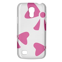 Bow Ties Pink Galaxy S4 Mini by Alisyart
