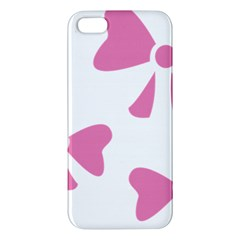 Bow Ties Pink Iphone 5s/ Se Premium Hardshell Case by Alisyart