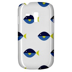 Blue Fish Swim Yellow Sea Beach Galaxy S3 Mini by Alisyart