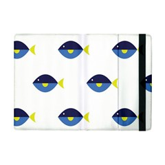 Blue Fish Swim Yellow Sea Beach Ipad Mini 2 Flip Cases by Alisyart