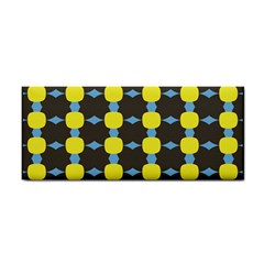 Blue Black Yellow Plaid Star Wave Chevron Cosmetic Storage Cases by Alisyart