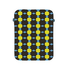Blue Black Yellow Plaid Star Wave Chevron Apple Ipad 2/3/4 Protective Soft Cases by Alisyart