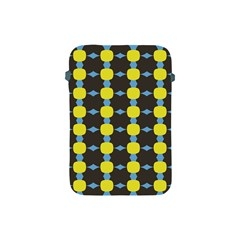 Blue Black Yellow Plaid Star Wave Chevron Apple Ipad Mini Protective Soft Cases by Alisyart