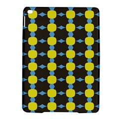 Blue Black Yellow Plaid Star Wave Chevron Ipad Air 2 Hardshell Cases by Alisyart