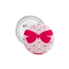 Butterfly Animals Pink Plaid Triangle Circle Flower 1 75  Buttons by Alisyart