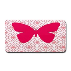 Butterfly Animals Pink Plaid Triangle Circle Flower Medium Bar Mats by Alisyart