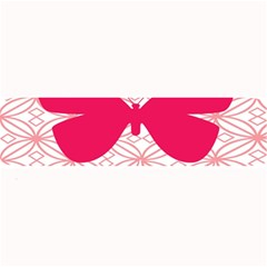 Butterfly Animals Pink Plaid Triangle Circle Flower Large Bar Mats