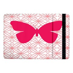 Butterfly Animals Pink Plaid Triangle Circle Flower Samsung Galaxy Tab Pro 10 1  Flip Case
