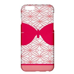 Butterfly Animals Pink Plaid Triangle Circle Flower Apple Iphone 6 Plus/6s Plus Hardshell Case by Alisyart
