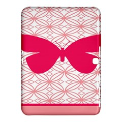 Butterfly Animals Pink Plaid Triangle Circle Flower Samsung Galaxy Tab 4 (10 1 ) Hardshell Case  by Alisyart