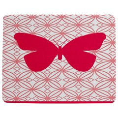 Butterfly Animals Pink Plaid Triangle Circle Flower Jigsaw Puzzle Photo Stand (rectangular) by Alisyart