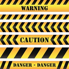 Caution Road Sign Warning Cross Danger Yellow Chevron Line Black Canvas 12  X 12   by Alisyart