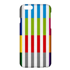 Color Bars Rainbow Green Blue Grey Red Pink Orange Yellow White Line Vertical Apple Iphone 6 Plus/6s Plus Hardshell Case by Alisyart