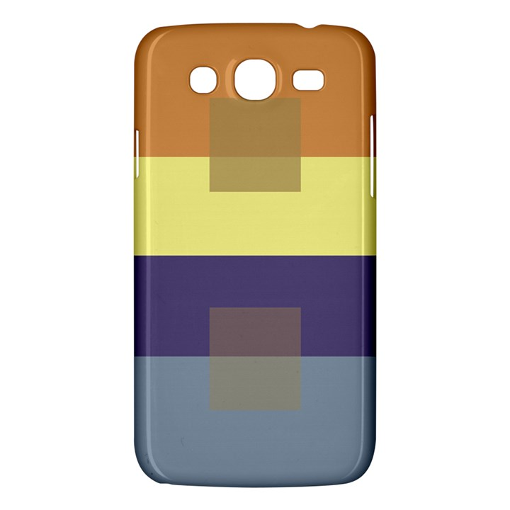 Color Therey Orange Yellow Purple Blue Samsung Galaxy Mega 5.8 I9152 Hardshell Case