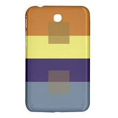 Color Therey Orange Yellow Purple Blue Samsung Galaxy Tab 3 (7 ) P3200 Hardshell Case  by Alisyart