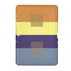 Color Therey Orange Yellow Purple Blue Samsung Galaxy Tab 2 (10 1 ) P5100 Hardshell Case  by Alisyart