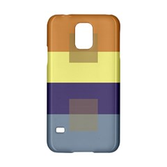 Color Therey Orange Yellow Purple Blue Samsung Galaxy S5 Hardshell Case  by Alisyart