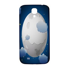 Cloud Moon Star Blue Sky Night Light Samsung Galaxy S4 I9500/i9505  Hardshell Back Case by Alisyart