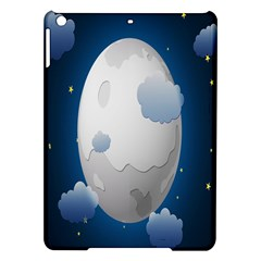 Cloud Moon Star Blue Sky Night Light Ipad Air Hardshell Cases by Alisyart