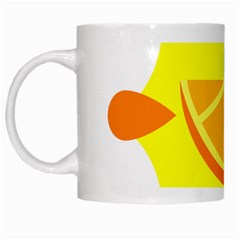 Citrus Cutie Request Orange Limes Yellow White Mugs by Alisyart