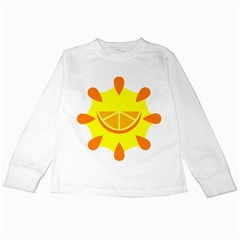 Citrus Cutie Request Orange Limes Yellow Kids Long Sleeve T Shirts