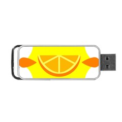 Citrus Cutie Request Orange Limes Yellow Portable Usb Flash (two Sides)